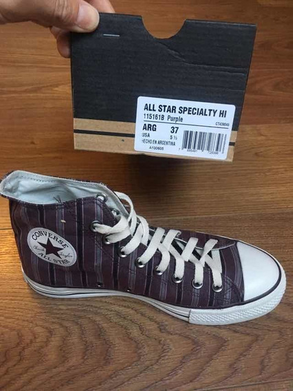 Converse All Star Purple 37 Botitas