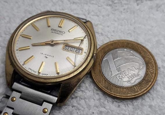 Relógio Seiko Automático 7006 Para Revisar
