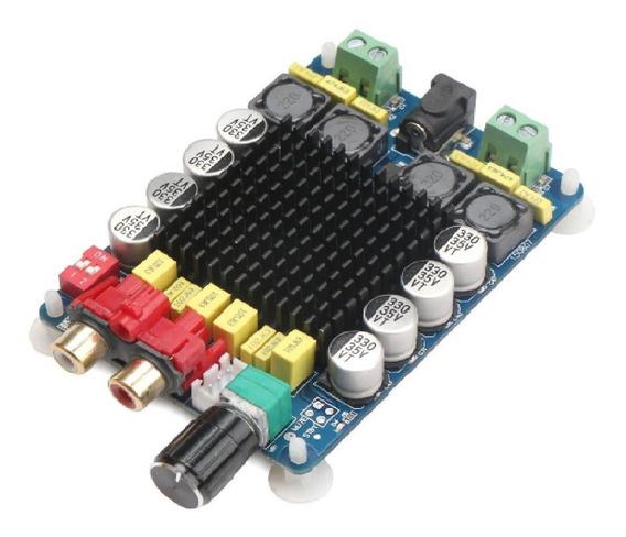 Placa Montada Amplificador 2.0 80+80 160w Rms Classe D Full