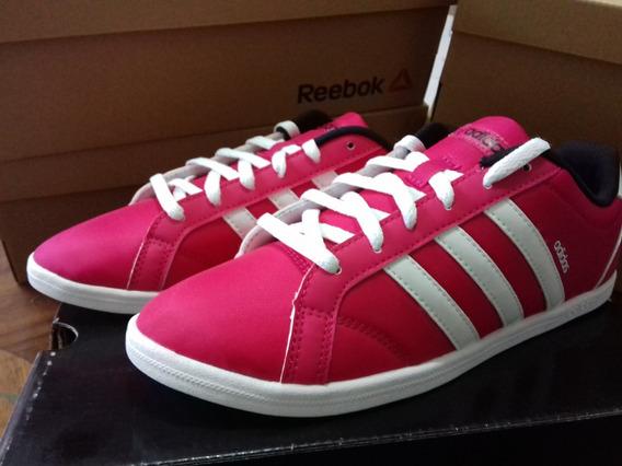 Tenis adidas Rosas Modelo Coneo Nuevos Y Originales