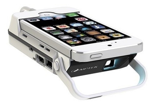 Aiptek Mobile I55 Pico Proyector Para iPhone 5 5s 6