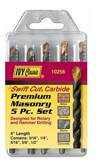 Ivy Classic Ivy 10256 5 Piezas Premium Carbide