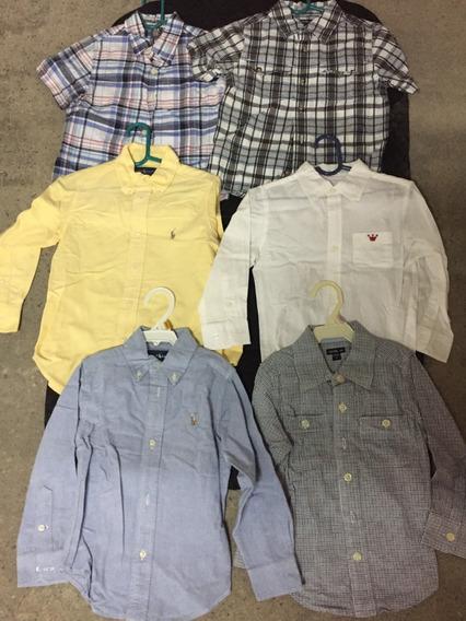 Camisas De Niños Talla 3