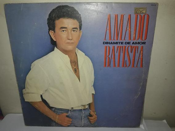 Lp Amado Batista 1988 Dinamite De Amor