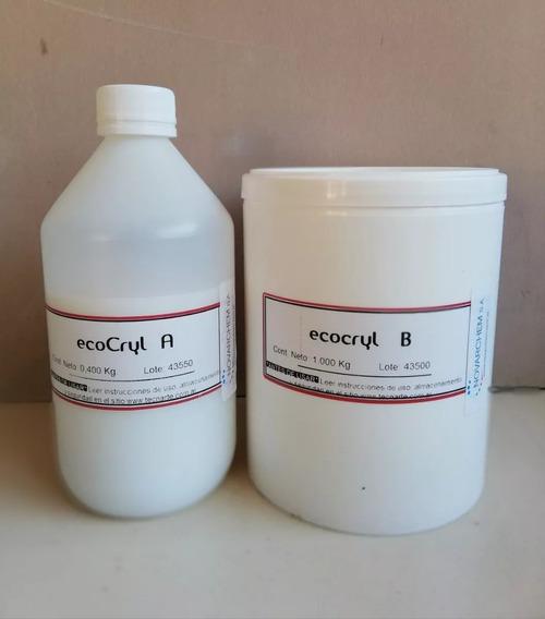 Resina Acrilica No Toxica Ecocryl Tecnarte X1400kg Microcent
