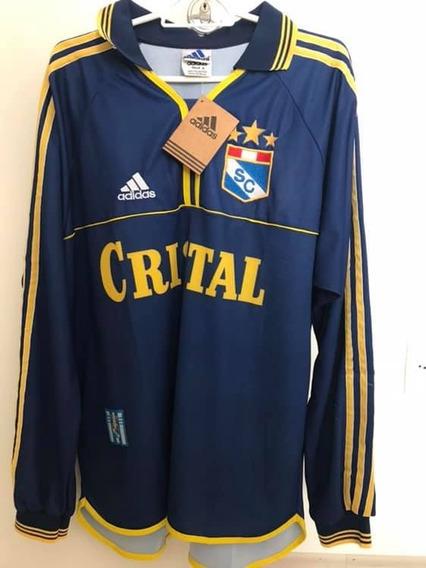 Camisa Sporting Cristal (peru) Anos 90 Com Etiqueta!