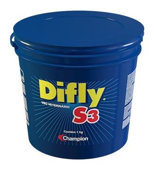 Imagem 1 de 5 de Difly S3 1kg Controle Do Carrapato E Da Mosca-dos-chifres