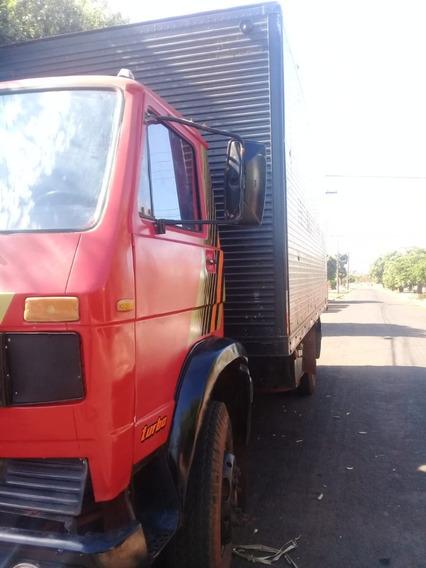 Caminhão Vw 11130 4x2 C/ Baú Ano 1981