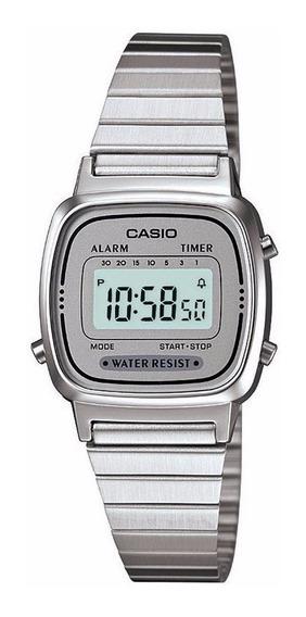 Relógio Casio Vintage La670wa-7df Original Nota Fiscal