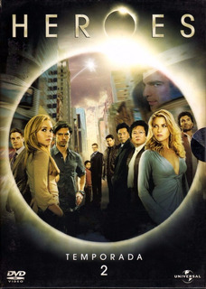 Dvd Heroes Temporada 2 Zona 4
