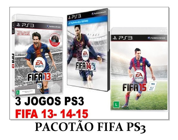 Jogos Fifa 13,14,15 Ps3/pronta Entrega