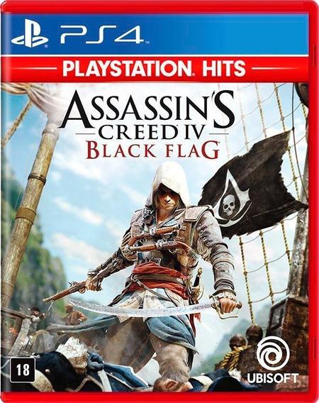 Assassins Creed Iv Black Flag Ps4 Mídia Física Novo Lacrado