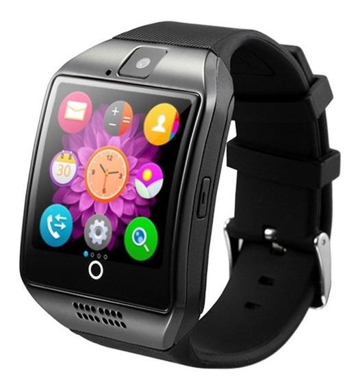 Reloj Smartwatch Q18 Curvo Inteligente Touch Android