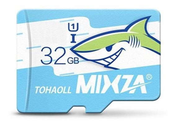 Cartão De Memoria 32gb Mixza Original 80m/s Classe 10