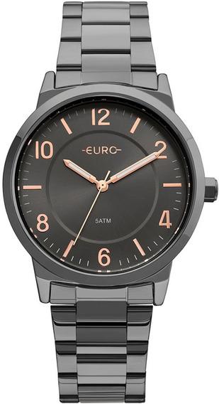 Relógio Feminino Euro Trendy Eu2036ylz/4p