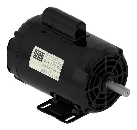 Motor Monofásico Weg 1 Cv 4 Polos D56 127/220 V 60 Hz