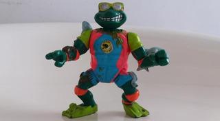 Tortugas Ninja Tmnt Mike Sewer Surfer Playmates Vintage