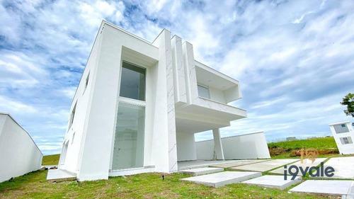 Casa Com 4 Suítes À Venda, Projeto Exclusivo  Condomínio Alphaville Ii - São José Dos Campos/sp - Ca1868