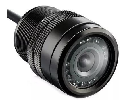 Camera Ré Fixa No Para-choque Infra-vermelho Visão Noturna