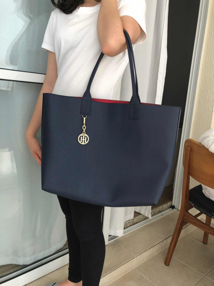 Bolsa Shopper Tommy Hilfiger Original. Dupla Face