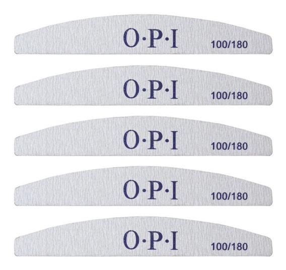 Limas O-p-i X 5 Unidades 100 / 180 Uñas Esculpidas Medialuna