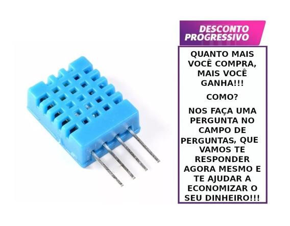 Sensor De Umidade E Temperatura Dht11 Para Arduino