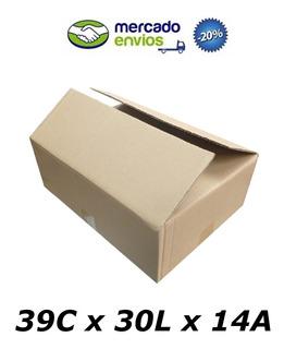 25 Caixas De Papelão 39 X 30 X 14 Usada Correio Pac Sedex