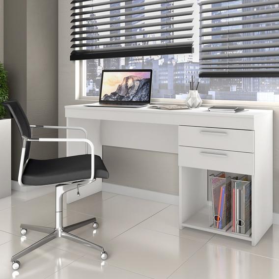 Escrivaninha 2 Gavetas Notável Office Branco