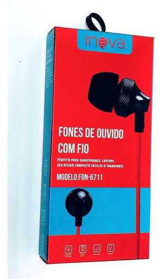20 Fone Ouvido Com Fio Modelo Fon-6711