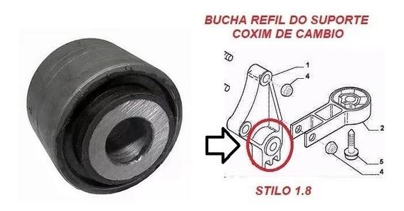 Bucha Refil Do Suporte Calço Traseiro Motor Fiat Stilo 46781