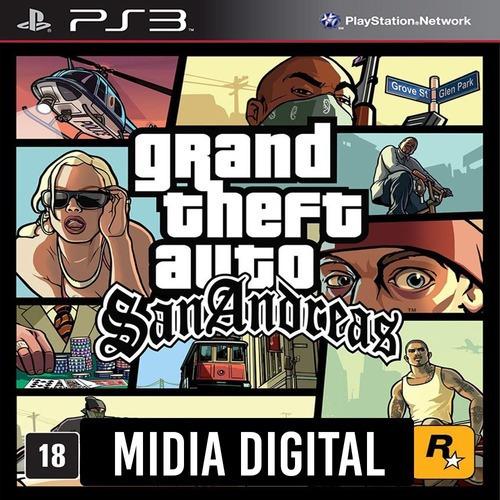 Ps3 Psn* - Gta San Andreas Hd Grand Theft Auto