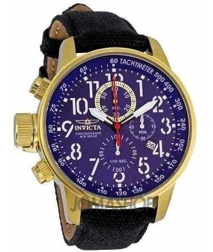 Relógio Invicta 1516 Force Original Banhado 18k Ouro