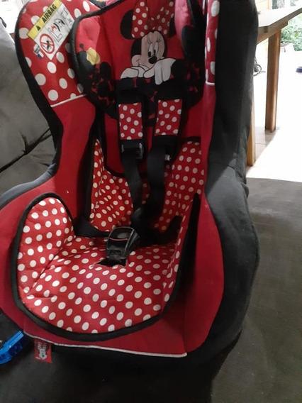 Cadeira Para Carro Minnie Mouse 0 A 25kg Vermelha