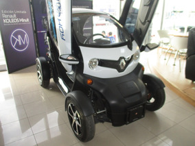 Renault Twizy Techno, Aut, Freno Disco, Color Blanco, 2017