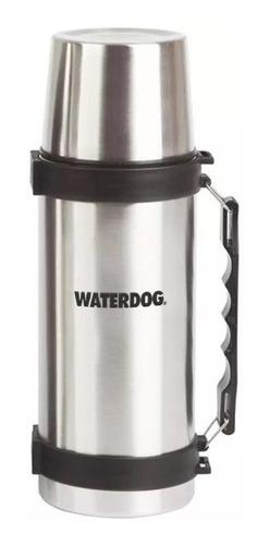 Termo Waterdog Acero Inox 1lt 1000cc Manija Tapon Cebador