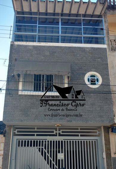 Casa A Venda No Bairro Ponte Alta Em Aparecida - Sp. - Cs208-1