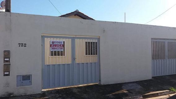 Casa Com 2 Dormitórios Para Alugar, 45 M² Por R$ 850,00/mês - Cooperlotes - Paulínia/sp - Ca1386