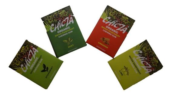 Chicle Chicza Limon 30g 100% Orgánico, Biodegradable Natura