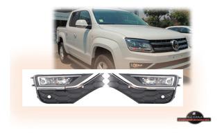 Kit De Neblineros Volkswagen Amarok 2017-2020 Completo