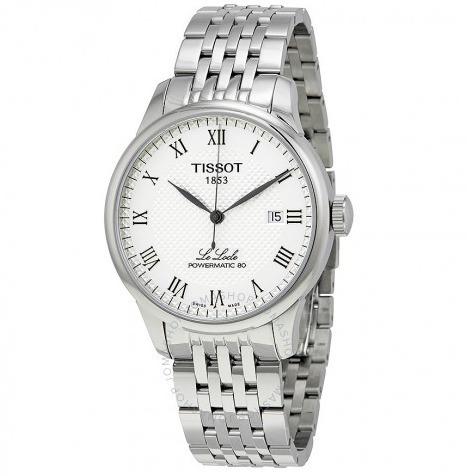 Relógio Tissot Powermatic 80 Branco/prata Automático Locle