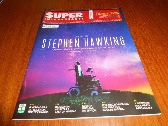 Revista Super Interessante Stephen Hawking (1942-2018)