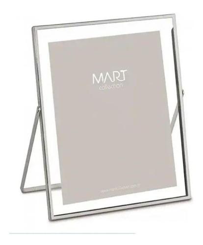Porta-retrato Prata Em Metal - 15x20 - 9110