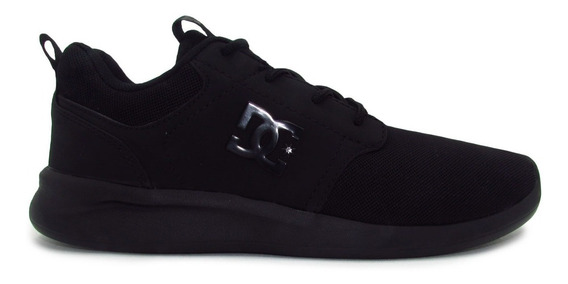Tenis Dc Shoes Midway Sn Mx Adys700136 Blk Black Negro