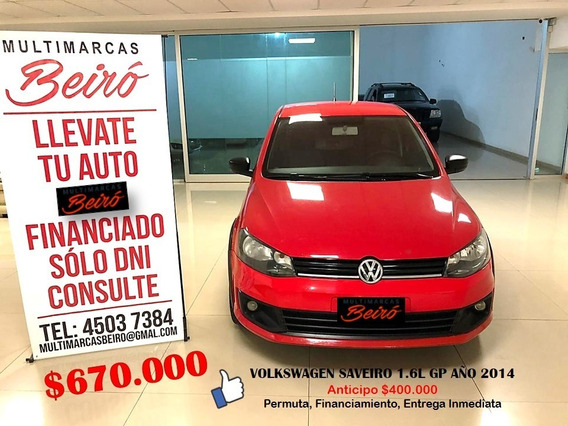 Volkswagen Saveiro 1.6l Gp Año 2014