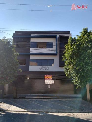 Studio Com 2 Dormitórios À Venda, 44m² Por R$ 260.000 - Vila Antonina - São Paulo/sp - St0002