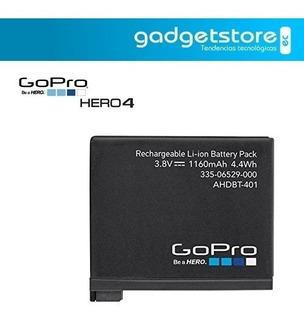 Bateria Gopro Para Hero4 Black / Hero4 Silver Recargable