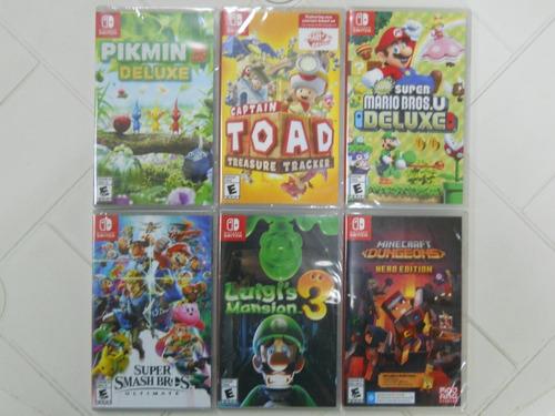Juegos Físicos Para Nintendo Switch Nuevos Sellados
