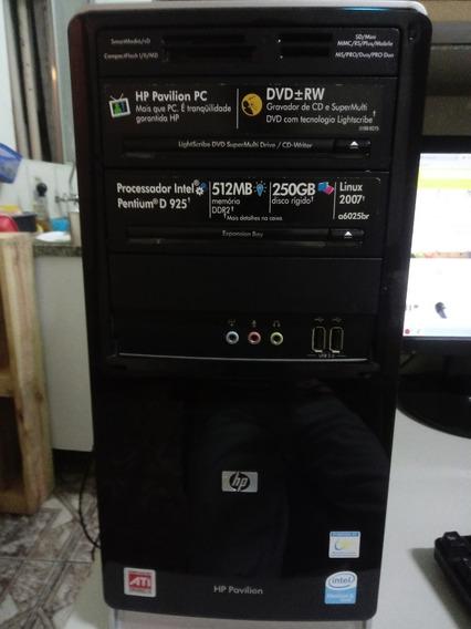 Cpu Hp Pavilion A6000 Pentium - Informática, Usado [Melhor