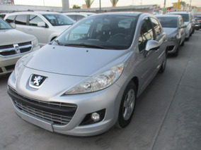 Peugeot 207 E Allure, Std, 5 Vel, Color Plata, Modelo 2012