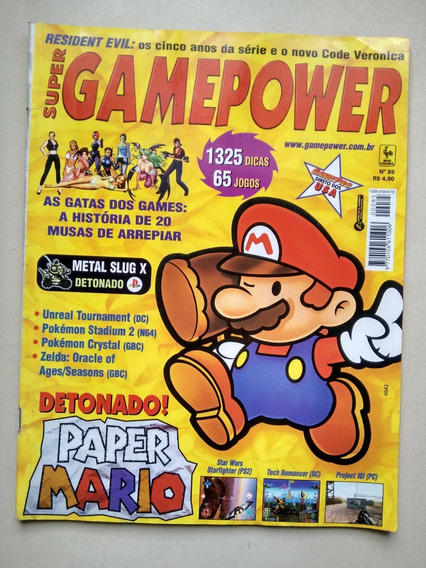 Revista Super Game Power 85 Mario Metal Slug X D561